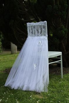NEW breeze wedding chair cover.