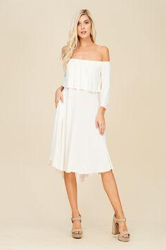 Plus Size Layered Dress Style# D5304P Plus size knit dress ...