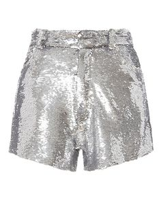 IRO Silver Sequin Shorts – INTERMIX® The clothing culture is quite old. Silver Sequin Skirt, Sequin Shorts, Cute Outfits With Shorts, Short Outfits, Kpop Fashion Outfits, Stage Outfits, Look Fashion, Korean Fashion, Going Out Skirts