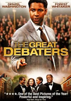 The Great Debaters (2007) Denzel Washington played the role of Melvin B. Tolson.