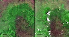Starting in the 1970s, NASA began using satellite images to document deforestation in several nation... - NASA