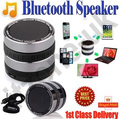SUPER BASS BLUETOOTH SPEAKER FOR PHONES PC IPAD TABLETS