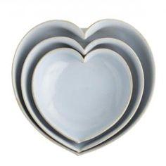 J.Crew Heart Bowls