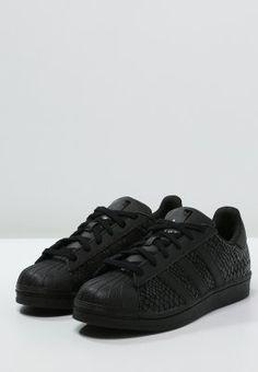 adidas Originals SUPERSTAR - Sneakers - core black - Zalando.se