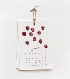Rifle Paper Co just released their 2012 calendars, and they're ADORABLE.