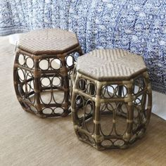 St. Bart's Chair Height Stool  | Ballard Designs
