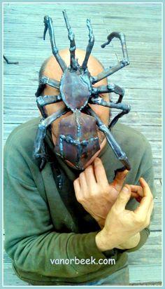 David Vanorbeek Metal Art Sculptures Abstract - Monumental - Insects