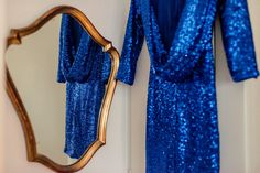 #blue #sequin #open-back #dress Photo: Christelle Naville Planning & Styling: Lily Events Dress: Asos Event Dresses, Event Styling, Wedding Planner, Asos, Wedding Decorations, Cover Up, Lily, Sequins, Events