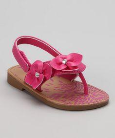 Fuchsia Akai Sandal by Natural Steps.