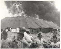 July 6, 1944 - The Hartford Circus Fire, which occurred in Hartford, Connecticut, was one of the worst fire disasters in the history of the United States. The fire occurred during an afternoon performance of the Ringling Brothers and Barnum & Bailey Circus that was attended by approximately 7,000 people. An estimated 167-169 people died and over 700 were injured.#scenesofnewenland #soNE #soCThistory #soCT #Connecticut #CT #history