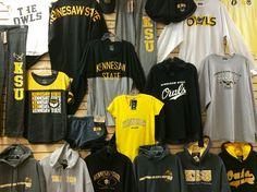 KSU Apparel available at The General Bookstore. Kennesaw State University - KSU - Owls