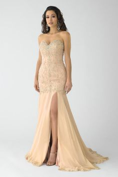 Buy Cheap Fascinating Sweetheart Beaded Bodice Prom Dress Mermaid Trumpet -  LovingDresses.com 564611434
