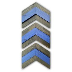Back The Blue: Thin Blue Line Chevron Wall Decor Arrows Exclusively by StreetwoodDesign on Etsy