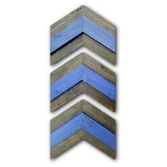 Rustic Thin Blue Line Chevron Arrows by PhoenixWoodshopCom on Etsy