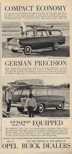 Opel Station Wagon (1960)