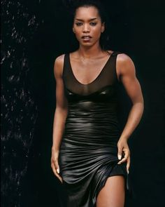 Angela Bassett/ she is my idol.   She is beautiful.  She can act her ass off.  You never hear anything bad about her and she has a bad-ass body!  HEY~