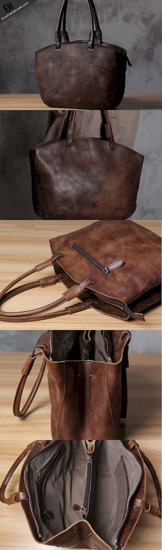 Beautiful leather shoulder bag designs to purchase this year (39)