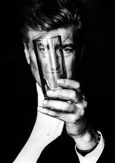 David Lynch by Ellen von Unwerth.