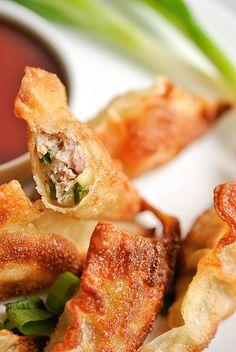 Smażone pierożki po chińsku ( z mięsem i kapustą)