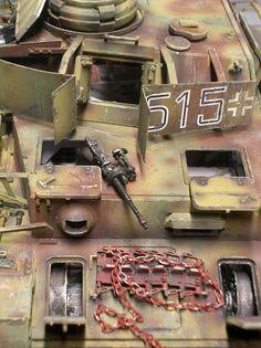 Diorama, Panzer Iv, Tiger Tank, Model Tanks, Miniture Things, Modeling, German, Top, Landing Gear