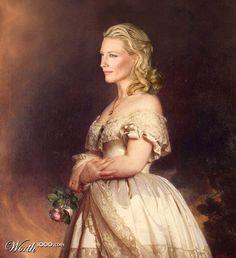 Modern Renaissance 11 - Worth1000 Contests.  Cate Blanchette