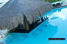 Swim up bar!  Privilege Aluxes Hotel, Isla Mujeres