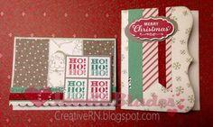 CTMH Sparkle & Shine paper, Santa Clause stamp set