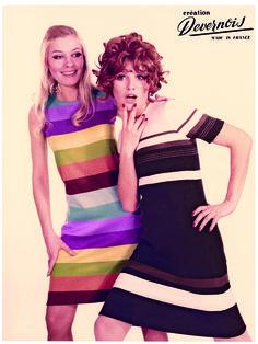 Les publicités de l'époque, en totale harmonie avec leur temps ! #devernois #mode #annéesfolles #femmes