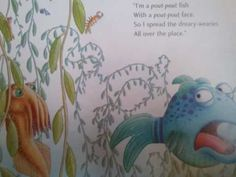 The Pout-Pout Fish Song. My daughter LOVES this!  Always cheers her up.
