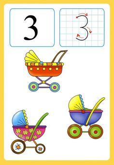 Preschool and Homeschool Kindergarten Projects, Kindergarten Math Activities, Educational Activities For Kids, Math Games, Preschool Activities, Number Flashcards, Flashcards For Kids, Kids Math Worksheets, Numbers Preschool