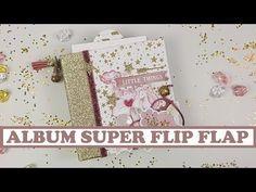 💚**Cómo hacer un álbum doble Flip Flap**💚