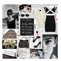 Flirty Thirty black and white theme party... love it