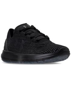 Under Armour Women's Slingride Running Sneakers from Finish Line - Black 8.5