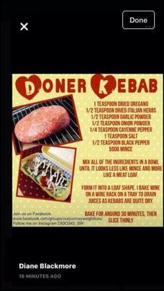 Slimming world Doner kebab
