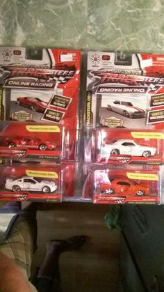 4 premiere limited edotion cars from tracksters.com...
