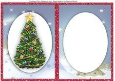 A5 Blank  Christmas Incert  on Craftsuprint - View Now!