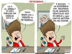 Vagas para a direção da Petrobras...