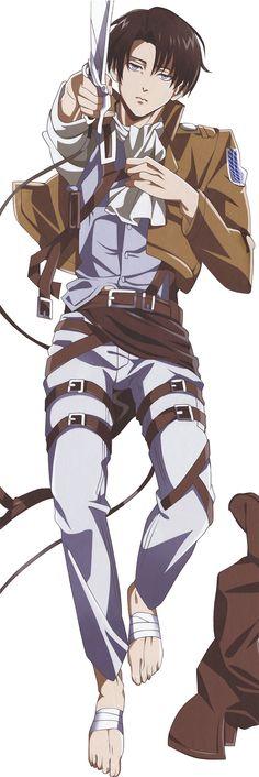 Shingeki no Kyojin: Lance Corporal Rivalle