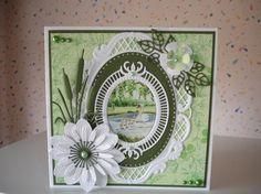 Voorbeeldkaart - lente - Categorie: Scrapkaarten - Hobbyjournaal uw hobby website