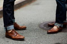 Selvage + wingtips