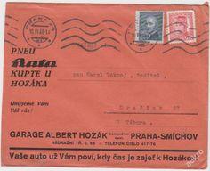 Pneu Baťa Smíchov Praha 1948 - Hozák Garage (5865974115) - Aukro - největší obchodní portál