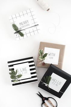 Easy Gift Wrap: Gift