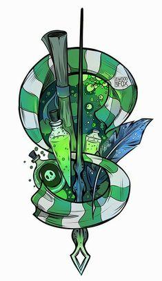Slytherin art