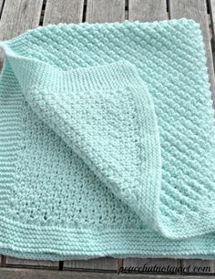 45 Best Easy Knit Baby Blanket Images In 2019 Baby Knitting