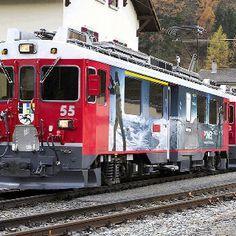 Rhb Bernina: A must do in Switzerland