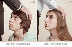 """To be clear, I am not """"anti-smoking"""" these are just images that make me want to quit, for me. Smokers are people too!"""