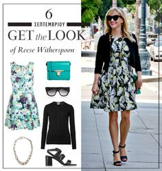 Get the look: Το girly chic look της Reese Witherspoon