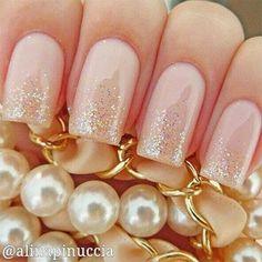 Inspiração - 12 modelos de unhas decoradas para o casamento