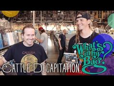 Cattle Decapitation - What's In My Bag? - YouTube