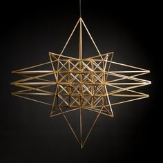 Yannah More - Himmeli Artist Straw Sculpture, Sculpture Art, Straw Crafts, Craft Stick Crafts, Craft Ideas, Straw Decorations, Straw Art, Straw Weaving, Bamboo Art